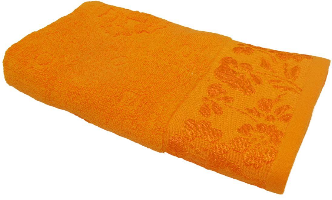 Полотенце махровое Bravo Ромашка, цвет: красный, 50 х 90 см1004900000360Полотенце Ромашка выполнено из натуральной махровой ткани (100% хлопок). Изделие отлично впитывает влагу, быстро сохнет, сохраняет яркость цвета и не теряет форму даже после многократных стирок. Полотенце очень практично и неприхотливо в уходе. Оно создаст прекрасное настроение и украсит интерьер в ванной комнате.