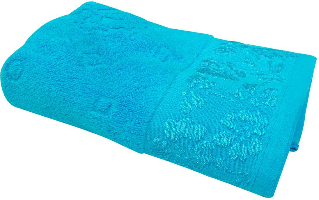 Полотенце махровое Bravo Ромашка, цвет: синий, 50 х 90 смC0042416Полотенце Ромашка выполнено из натуральной махровой ткани (100% хлопок). Изделие отлично впитывает влагу, быстро сохнет, сохраняет яркость цвета и не теряет форму даже после многократных стирок. Полотенце очень практично и неприхотливо в уходе. Оно создаст прекрасное настроение и украсит интерьер в ванной комнате.