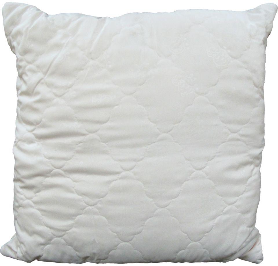 Подушка ЭкоСтиль Wool, цвет: бежевый, 70 х 70 см531-105Подушка ЭкоСтиль Wool - мягкая и легкая подушка обеспечит вам здоровый и комфортный сон. Она отлично впитывают влагу, также без труда ее испаряет, а это значит, что в ней никогда не заведутся микробы и вредные бактерии. Подушка обеспечивает надежную поддержку шеи и головы. Кроме того, она постоянно поддерживает нужную температуру и дарит вам незабываемое чувство комфорта и умиротворения.