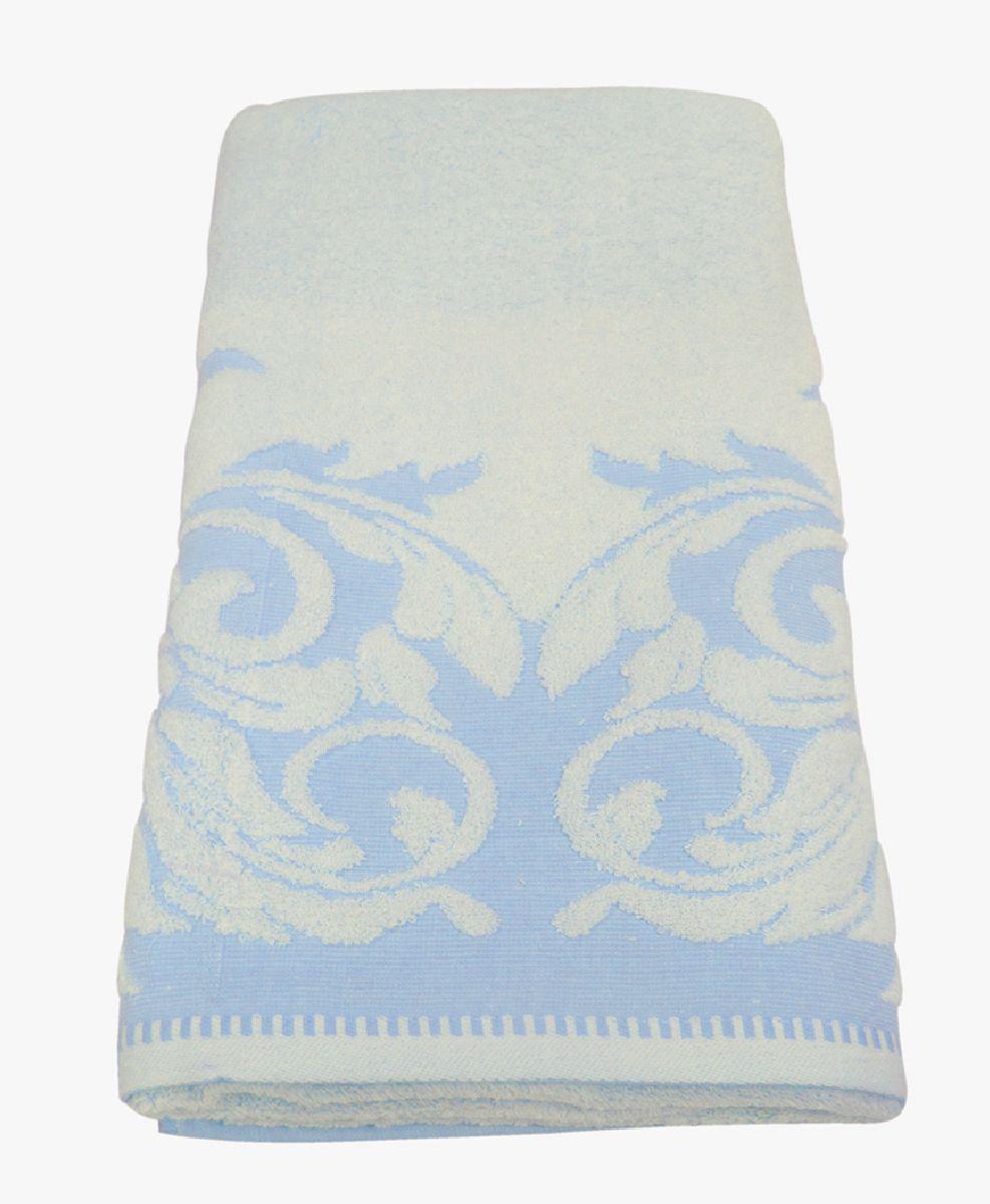 Полотенце махровое НВ Венеция, цвет: белый, голубой, 70 х 130 см. м0508_01391602Полотенце НВ  Венеция выполнено из натуральной махровой ткани (100% хлопок). Изделие отлично впитывает влагу, быстро сохнет, сохраняет яркость цвета и не теряет форму даже после многократных стирок. Полотенце очень практично и неприхотливо в уходе. Оно станет достойным выбором для вас и приятным подарком вашим близким.