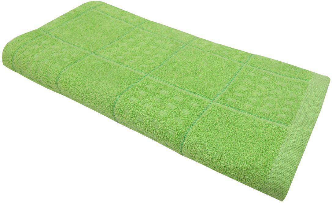 Полотенце махровое Bravo Квадро, цвет: зеленый, 45 х 90 см68/5/3Полотенце Квадро выполнено из натуральной махровой ткани (100% хлопок). Изделие отлично впитывает влагу, быстро сохнет, сохраняет яркость цвета и не теряет форму даже после многократных стирок. Полотенце очень практично и неприхотливо в уходе. Оно создаст прекрасное настроение и украсит интерьер в ванной комнате.