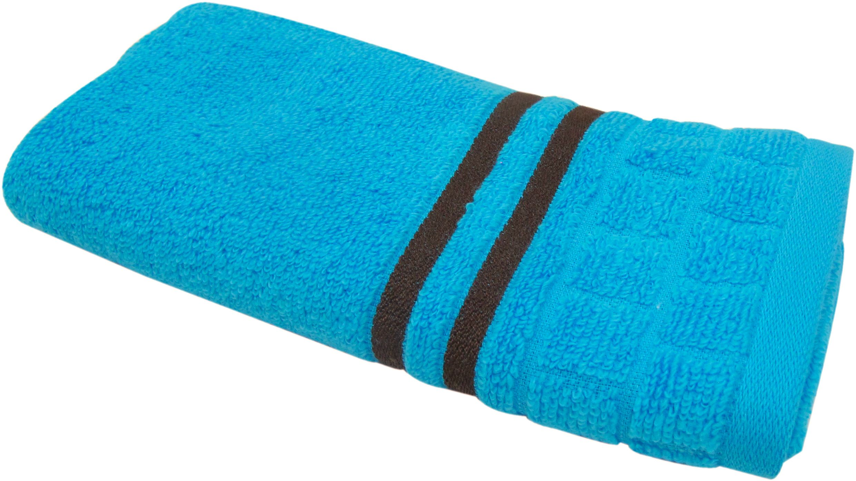 Полотенце махровое Bravo Лана, цвет: синий, 33 х 70 см71355Полотенце Лана выполнено из натуральной махровой ткани (100% хлопок). Изделие отлично впитывает влагу, быстро сохнет, сохраняет яркость цвета и не теряет форму даже после многократных стирок. Полотенце очень практично и неприхотливо в уходе. Оно создаст прекрасное настроение и украсит интерьер в ванной комнате.
