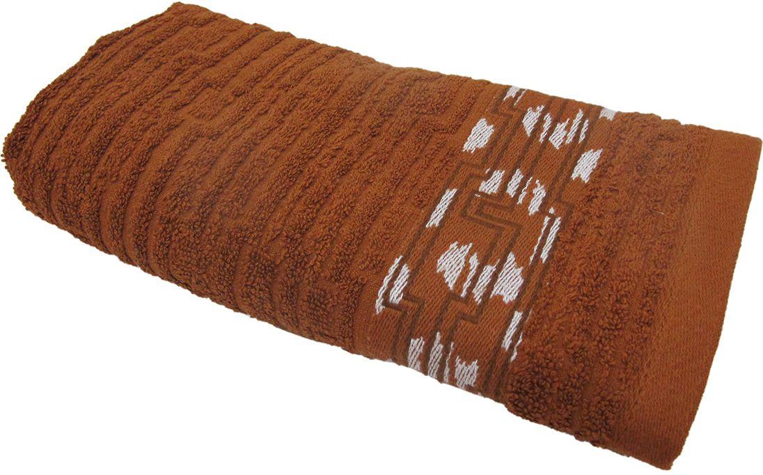 Полотенце махровое НВ Нюанс, цвет: коричневый, 33 х 70 см. м0667_07531-105Полотенце НВ  Нюанс выполнено из натуральной махровой ткани (100% хлопок). Изделие отлично впитывает влагу, быстро сохнет, сохраняет яркость цвета и не теряет форму даже после многократных стирок. Полотенце очень практично и неприхотливо в уходе. Оно станет достойным выбором для вас и приятным подарком вашим близким.