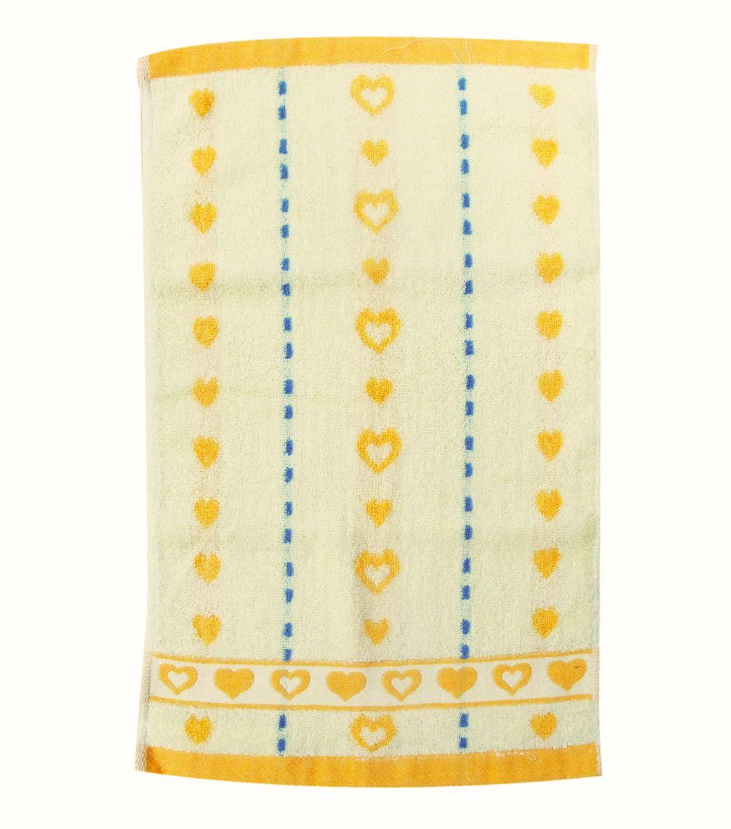 Полотенце махровое НВ Магнит, цвет: желтый, 30 х 50 см. м0737_0685183