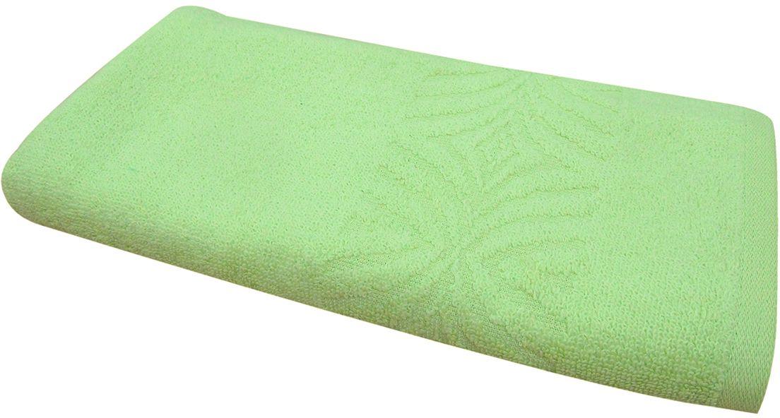 Полотенце махровое Bravo Комфорт, цвет: зеленый, 65 х 130 смPH3271Полотенце Комфорт выполнено из натуральной махровой ткани (100% хлопок). Изделие отлично впитывает влагу, быстро сохнет, сохраняет яркость цвета и не теряет форму даже после многократных стирок. Полотенце очень практично и неприхотливо в уходе. Оно создаст прекрасное настроение и украсит интерьер в ванной комнате.