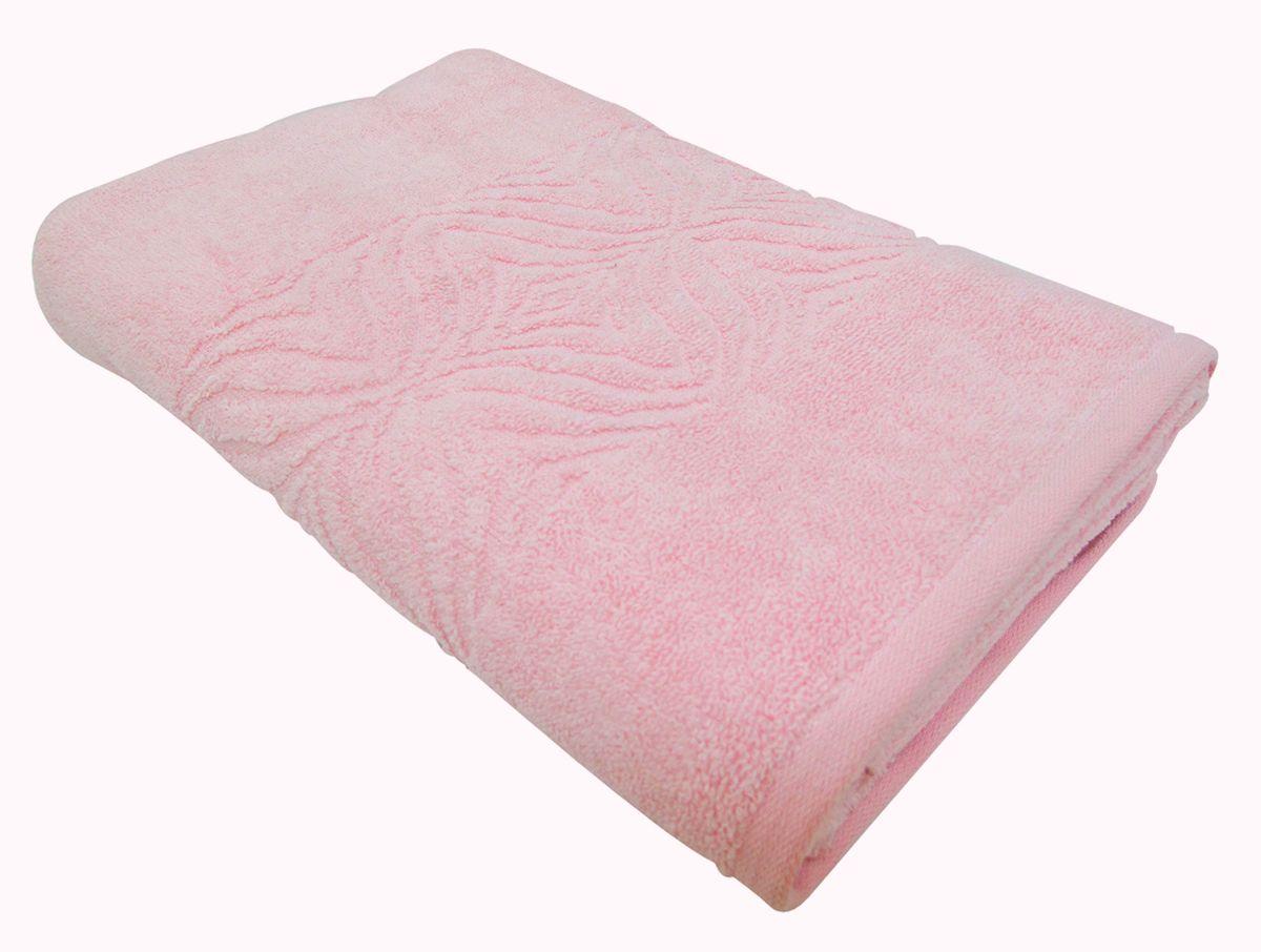 Полотенце махровое Bravo Комфорт, цвет: розовый, 45 х 90 см1011217232Полотенце Комфорт выполнено из натуральной махровой ткани (100% хлопок). Изделие отлично впитывает влагу, быстро сохнет, сохраняет яркость цвета и не теряет форму даже после многократных стирок. Полотенце очень практично и неприхотливо в уходе. Оно создаст прекрасное настроение и украсит интерьер в ванной комнате.