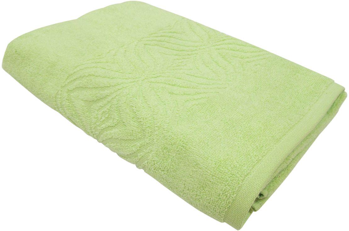 Полотенце махровое Bravo Комфорт, цвет: зеленый, 45 х 90 см85500Полотенце Комфорт выполнено из натуральной махровой ткани (100% хлопок). Изделие отлично впитывает влагу, быстро сохнет, сохраняет яркость цвета и не теряет форму даже после многократных стирок. Полотенце очень практично и неприхотливо в уходе. Оно создаст прекрасное настроение и украсит интерьер в ванной комнате.