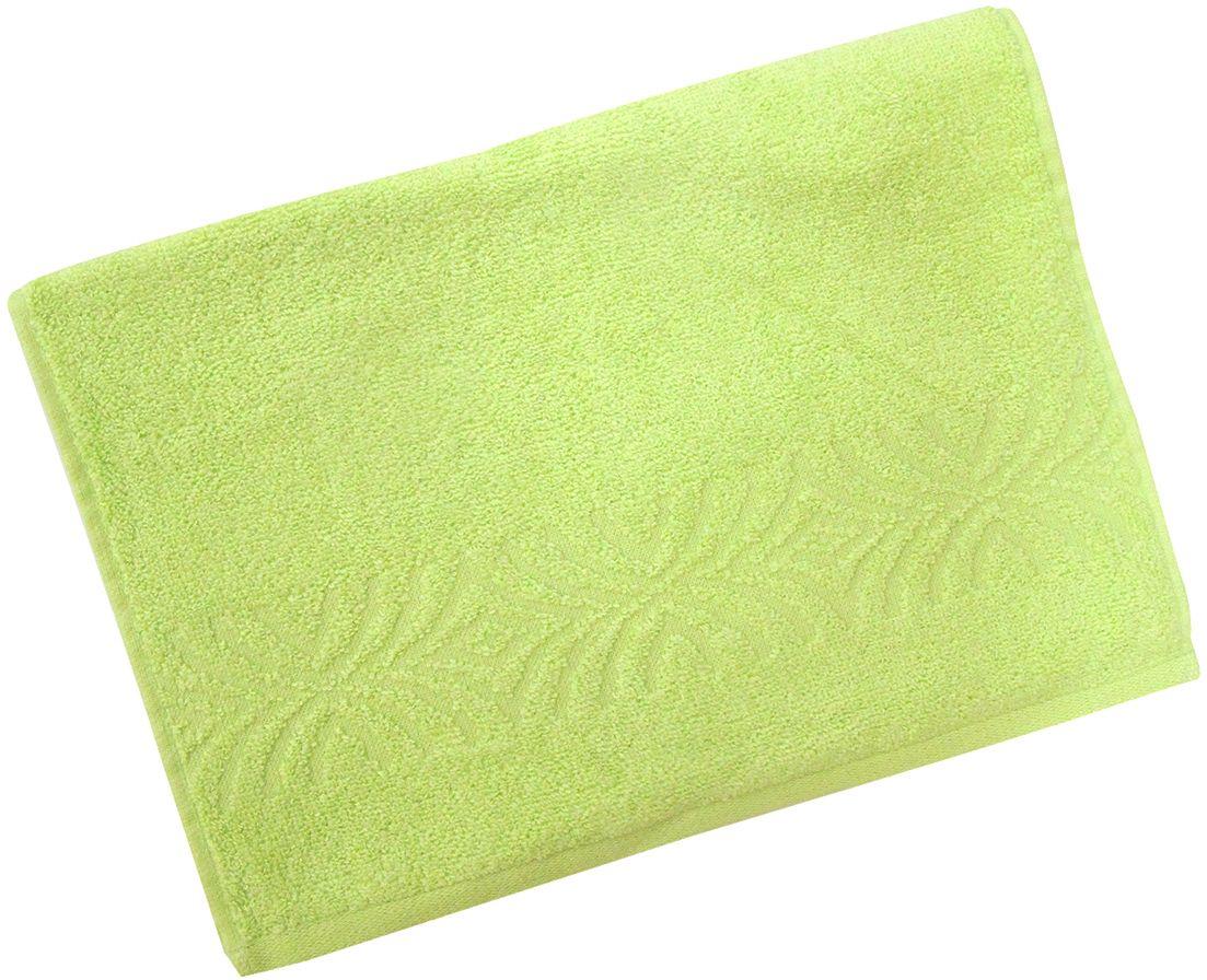 Полотенце махровое Bravo Комфорт, цвет: зеленый, 33 х 70 см85504Полотенце Комфорт выполнено из натуральной махровой ткани (100% хлопок). Изделие отлично впитывает влагу, быстро сохнет, сохраняет яркость цвета и не теряет форму даже после многократных стирок. Полотенце очень практично и неприхотливо в уходе. Оно создаст прекрасное настроение и украсит интерьер в ванной комнате.