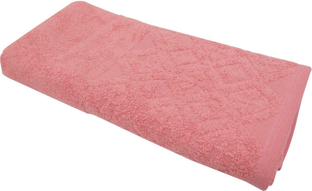 Полотенце махровое Bravo Вдохновение, цвет: малиновый, 45 х 90 см1501001041Полотенце Вдохновение выполнено из натуральной махровой ткани (100% хлопок). Изделие отлично впитывает влагу, быстро сохнет, сохраняет яркость цвета и не теряет форму даже после многократных стирок. Полотенце очень практично и неприхотливо в уходе. Оно создаст прекрасное настроение и украсит интерьер в ванной комнате.