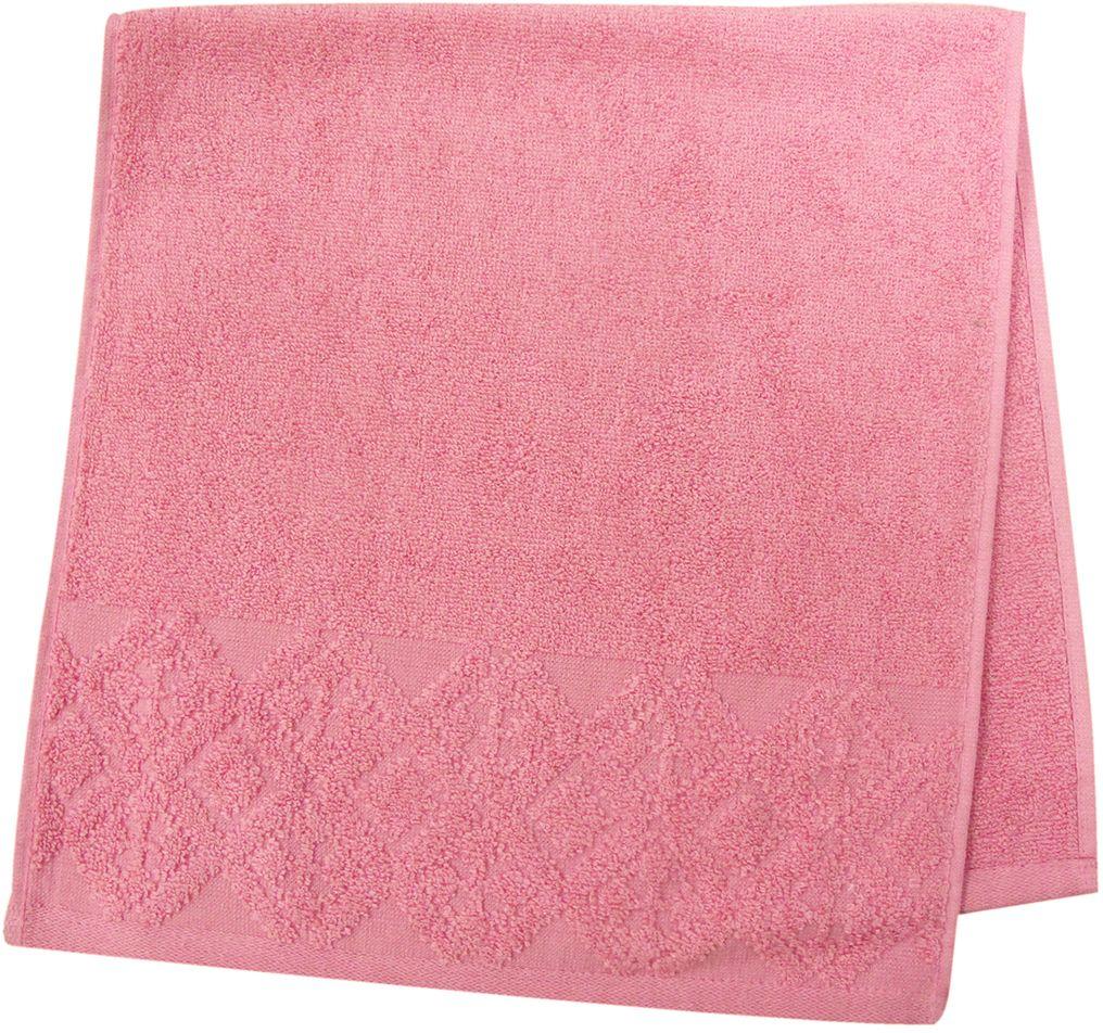 Полотенце махровое Bravo Вдохновение, цвет: малиновый, 33 х 70 см1011217226Полотенце Вдохновение выполнено из натуральной махровой ткани (100% хлопок). Изделие отлично впитывает влагу, быстро сохнет, сохраняет яркость цвета и не теряет форму даже после многократных стирок. Полотенце очень практично и неприхотливо в уходе. Оно создаст прекрасное настроение и украсит интерьер в ванной комнате.