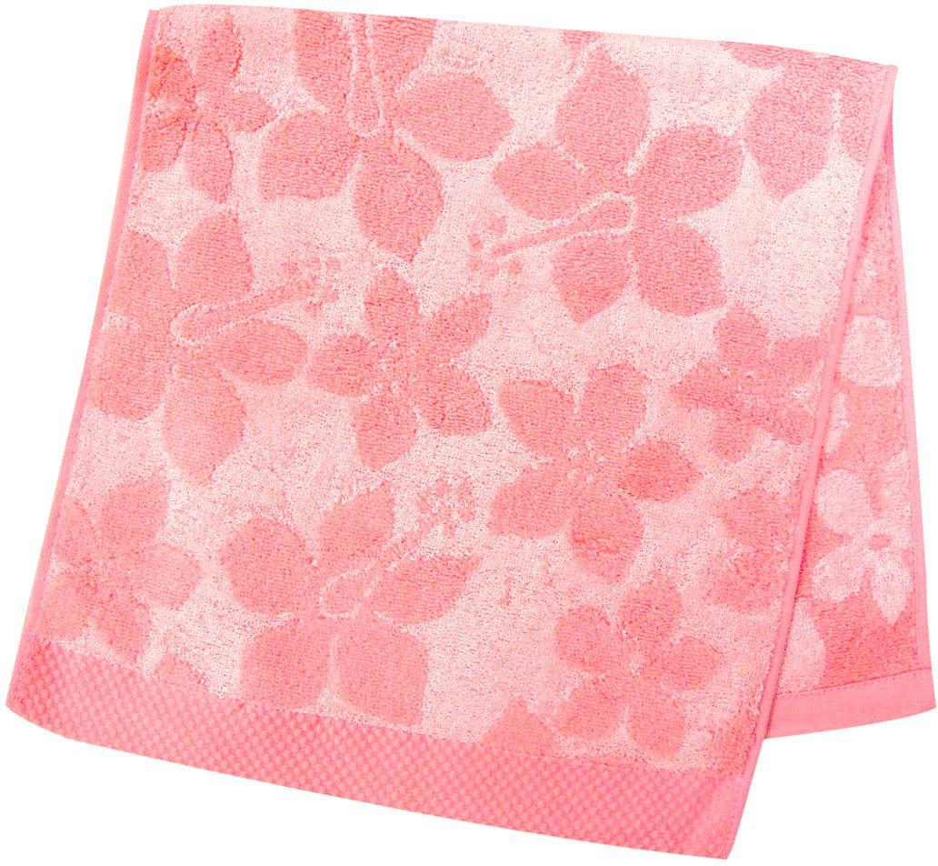 Полотенце махровое НВ Бьянка, цвет: розовый, 33 х 70 см. м0741_0268/5/4Полотенце НВ  Бьянка выполнено из хлопка с добавлением бамбука и дополнено цветочным принтом. Изделие отлично впитывает влагу, быстро сохнет, сохраняет яркость цвета и не теряет форму даже после многократных стирок. Полотенце очень практично и неприхотливо в уходе. Оно станет достойным выбором для вас и приятным подарком вашим близким.