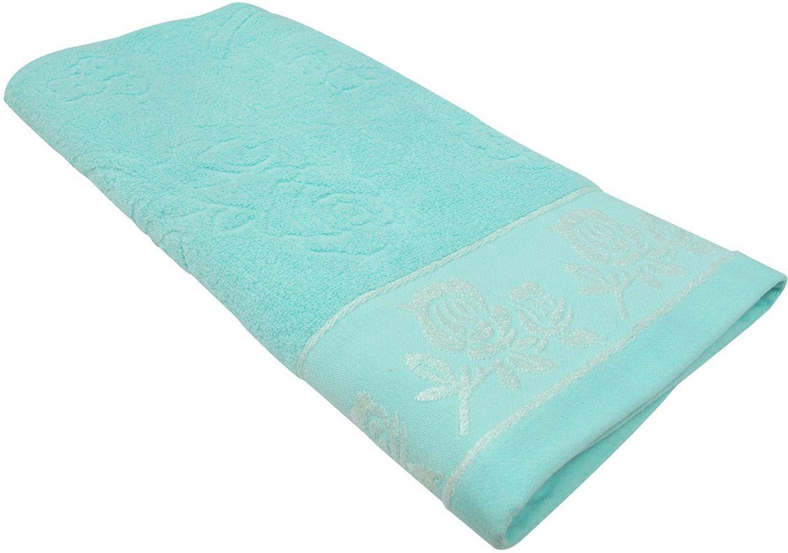 Полотенце махровое Bravo Аваланж, цвет: синий, 65 х 130 смRSP-202SПолотенце Аваланж выполнено из натуральной махровой ткани (100% хлопок). Изделие отлично впитывает влагу, быстро сохнет, сохраняет яркость цвета и не теряет форму даже после многократных стирок. Полотенце очень практично и неприхотливо в уходе. Оно создаст прекрасное настроение и украсит интерьер в ванной комнате.