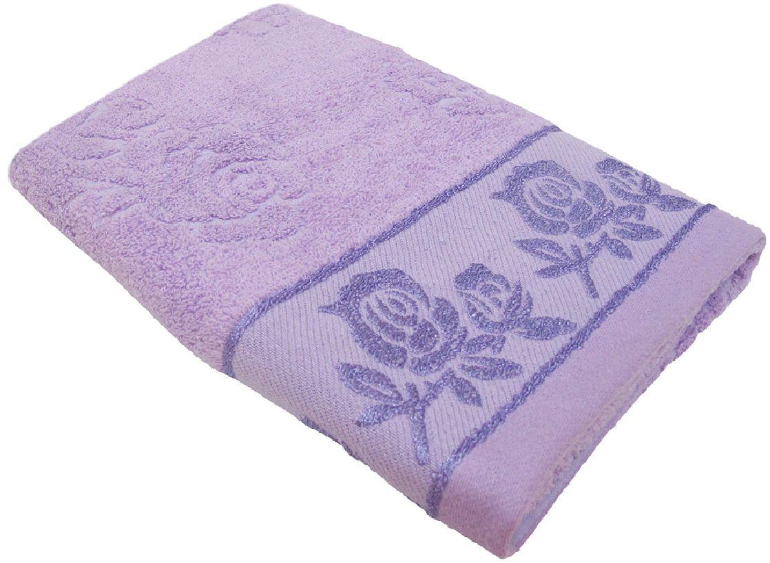 Полотенце махровое НВ Аваланж, цвет: сиреневый, 45 х 90 см. м0746_2268/5/3Полотенце НВ Аваланж выполнено из натуральной махровой ткани (100% хлопок). Изделие отлично впитывает влагу, быстро сохнет, сохраняет яркость цвета и не теряет форму даже после многократных стирок. Полотенце очень практично и неприхотливо в уходе. Оно станет достойным выбором для вас и приятным подарком вашим близким.