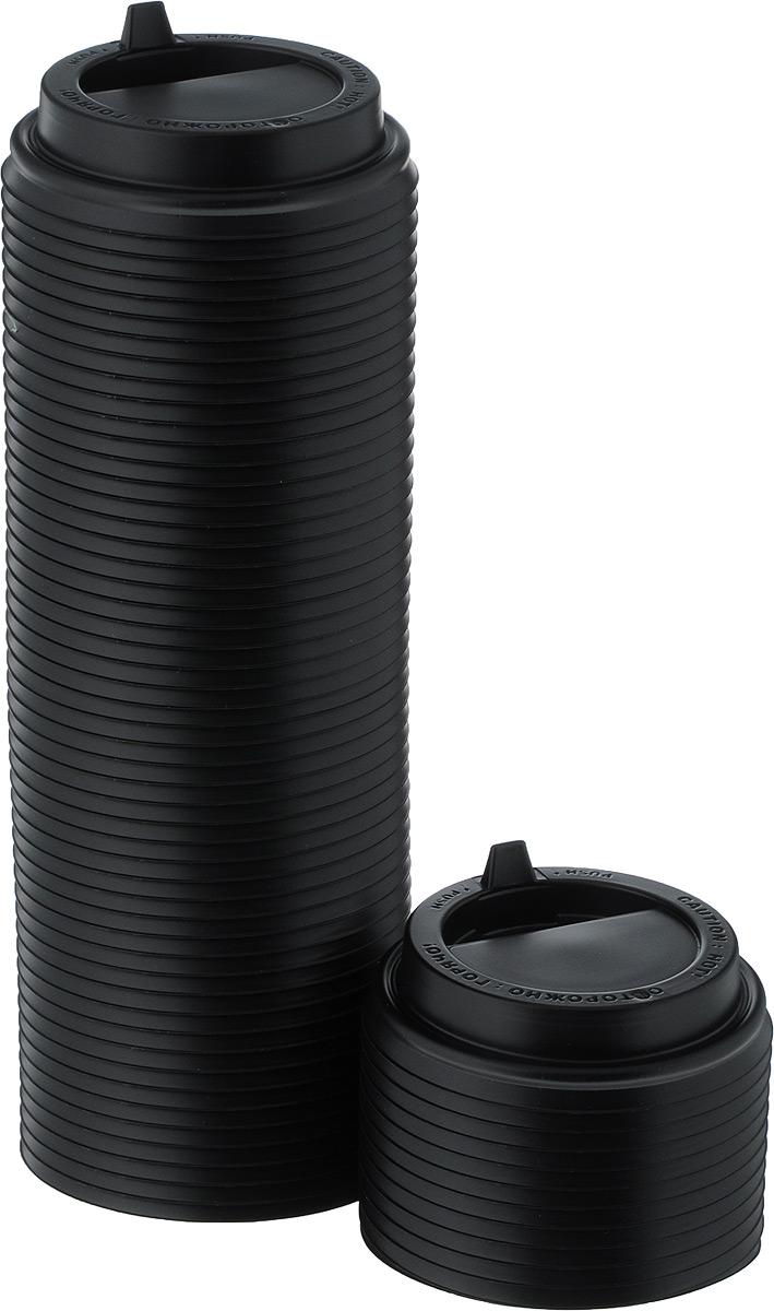Крышка одноразовая Протэк, с носиком, цвет: черный, диаметр 8 см, 100 шт. ПОС29587SC-FD421004Крышка одноразовая Протэк предназначена для пластиковых кружек и стаканчиков. Крышка плотно одевается на стакан и не допускает проливания жидкости. Изделие дополнено удобным носиком, через который можно пить, не снимая крышку со стакана.