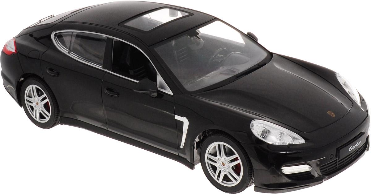 """Радиоуправляемая модель MZ """"Porsche Panamera"""" понравится не только ребенку, но и взрослому, ценящему оригинальные подарки. Модель выполнена из прочного пластика и представляет собой точную копию автомобиля Porsche Panamera  в масштабе 1/14. В комплект входит удобный пульт управления, зарядное устройство для аккумулятора модели и инструкция на русском языке. Модель отличается тщательной проработкой и высокой детализацией. Автомобиль реалистично двигается вперед и назад, а также выполняет повороты вправо и влево. Модель дополнена световыми эффектами. Прорезиненные колеса имеют рельеф и обеспечивают надежное сцепление с любой гладкой поверхностью. Реалистичная модель на радиоуправлении приведет в восторг и ребенка, и взрослого, и принесет множество ярких впечатлений, а также позволит устроить настоящие гонки у себя дома.Для работы модели рекомендуется докупить 5 батареек напряжением 1,5V типа АА (товар комплектуется демонстрационными)."""