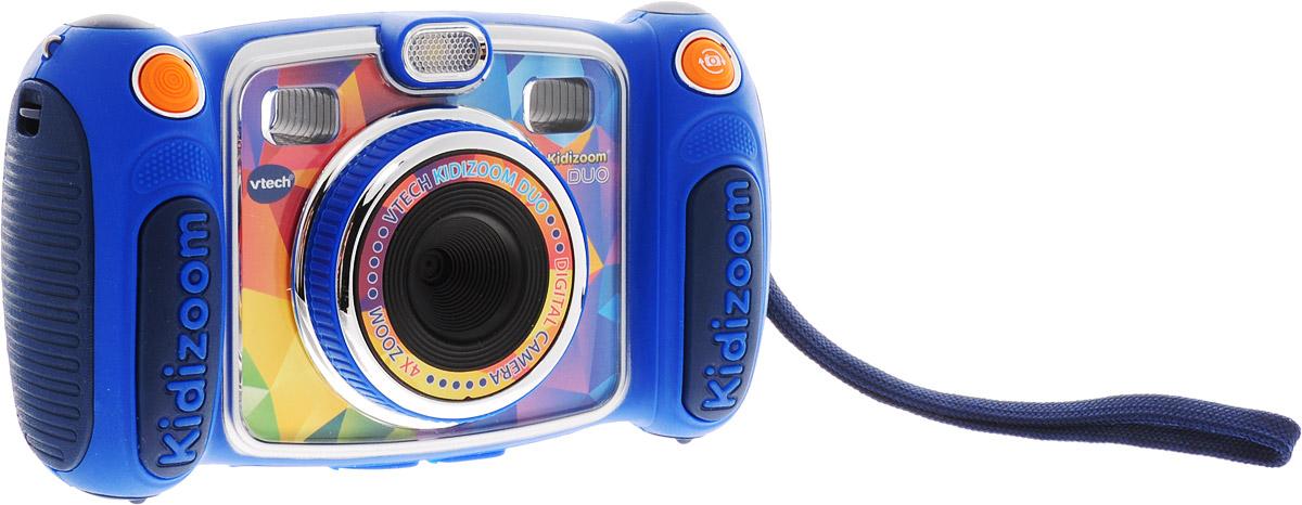 Vtech Электронная игрушка Цифровая камера Kidizoom Duo цвет синий аксессуары для видеокамеры vtech kidizoom camera case