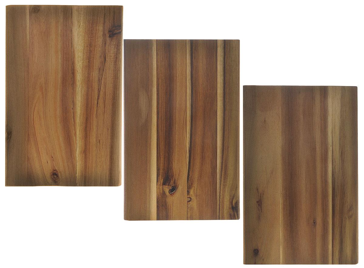 Доска разделочная Kesper, 15 х 23 х 1 см, 3 шт17025Небольшие разделочные доски Kesper изготовлены из дерева. Функциональные и простые в использовании, разделочные доски Kesper прекрасно впишутся в интерьер любой кухни и прослужат вам долгие годы. Размер доски: 15 х 23 х 1 см.
