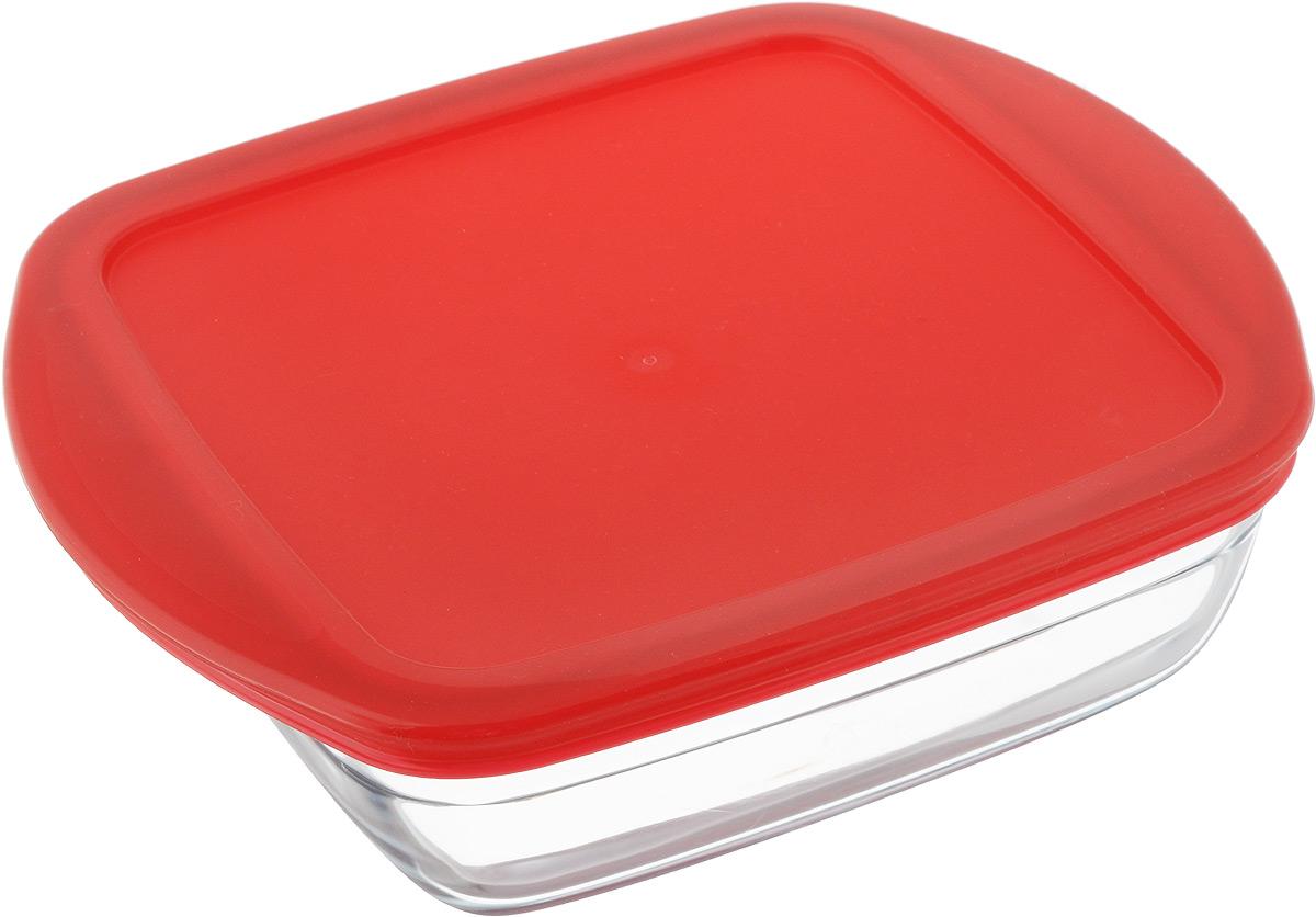 Форма для запекания Pyrex O Cuisine, квадратная, с крышкой, 20 х 17 см54 009312Форма Pyrex O Cuisine изготовлена из прозрачного жаропрочного стекла. Непористая поверхность исключает образование бактерий, великолепно моется. Изделие идеально подходит для приготовленияв духовом шкафу. Выдерживает перепад температур от -40°C до +300°C.Форма Pyrex O Cuisine подходит для использования в микроволновой печи, приготовления блюд в духовке, хранения пищи в холодильнике. Можно мыть в посудомоечной машине. Размер формы (по верхнему краю): 20 х 17 см.Высота формы: 6 см.