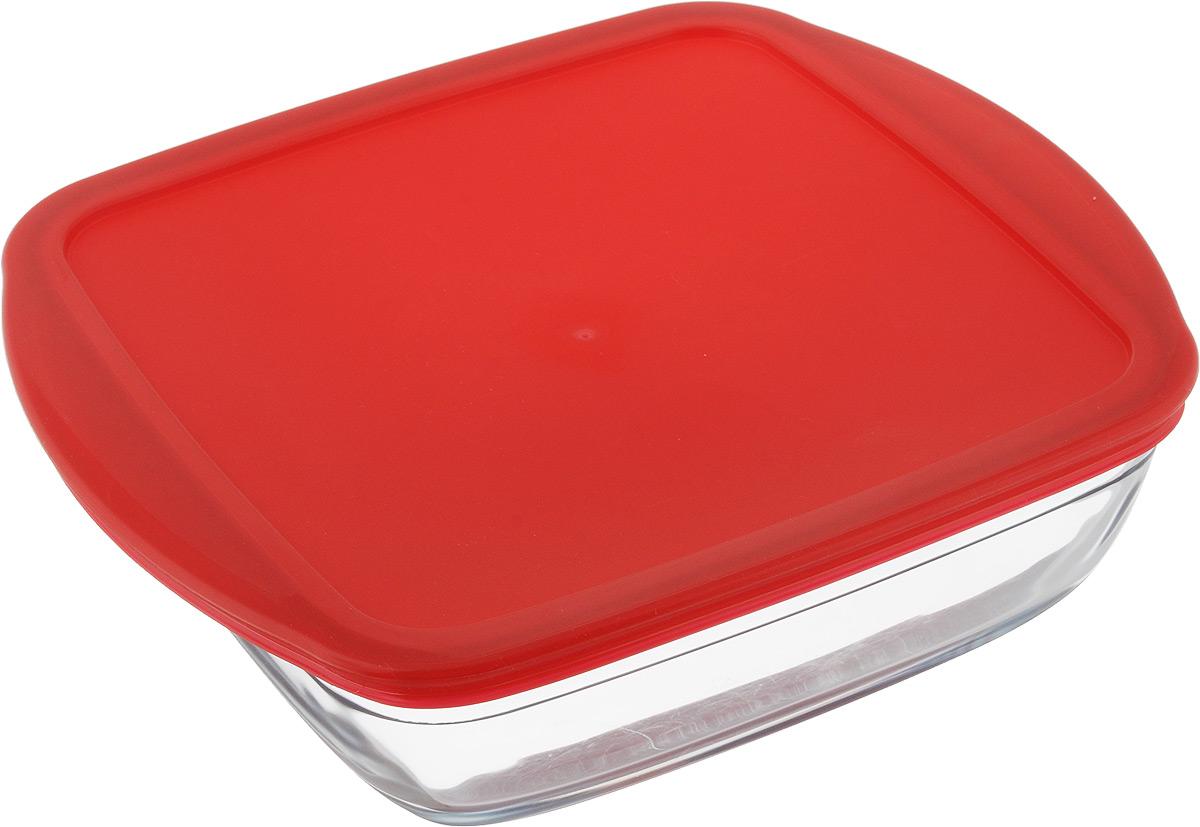 Форма для запекания Pyrex Ocuisine, квадратная, с крышкой, 25 х 22 см94672Форма Pyrex O Cuisine изготовлена из прозрачного жаропрочного стекла. Непористая поверхность исключает образование бактерий, великолепно моется. Изделие идеально подходит для приготовленияв духовом шкафу. Выдерживает перепад температур от -40°C до +300°C.Форма Pyrex O Cuisine подходит для использования в микроволновой печи, приготовления блюд в духовке, хранения пищи в холодильнике. Можно мыть в посудомоечной машине. Размер формы (по верхнему краю): 25 х 22 см.Высота формы: 7 см.