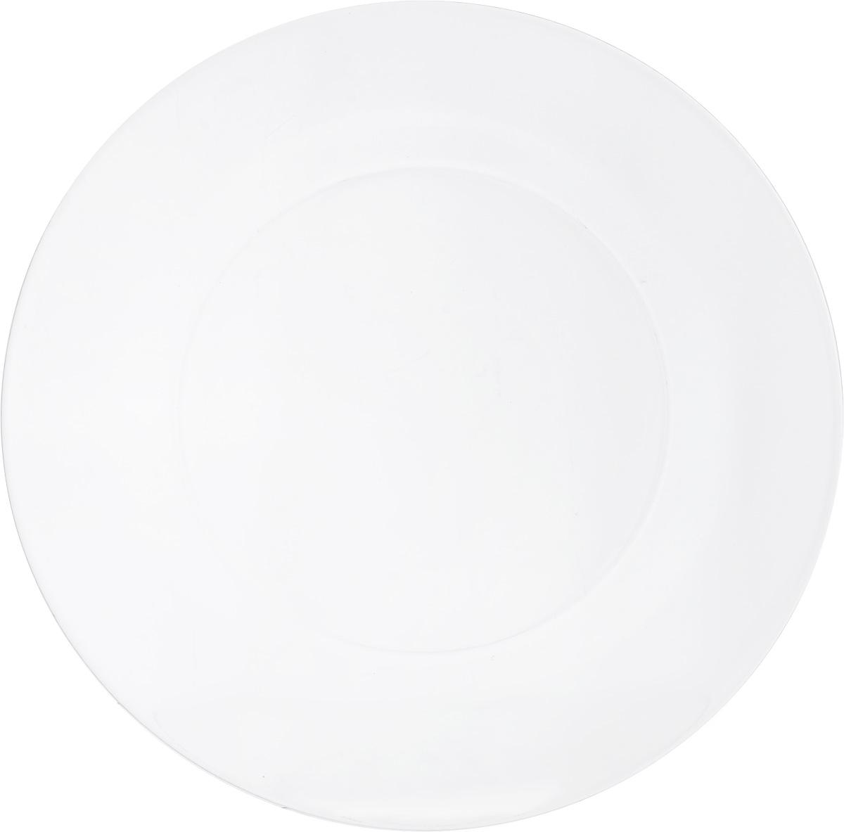 Тарелка обеденная OSZ Симпатия, диаметр 25 см115510Тарелка обеденная OSZ Симпатия выполнена из стекла. Диаметр тарелки (по верхнему краю): 25 см.