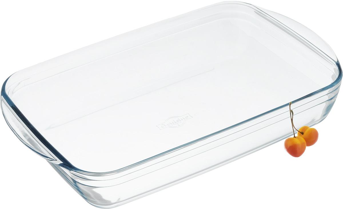 Форма для выпечки Pyrex O Cuisine, прямоугольная, 40 х 27 см68/5/4Форма для запекания Pyrex O Cuisine изготовлена из прозрачного жаропрочногостекла. Непористая поверхность исключает образование бактерий, великолепно моется. Изделие идеально подходит для приготовленияв духовом шкафу. Выдерживает перепад температур от -40°C до +300°C.Форма подходит для использования в микроволновой печи, приготовления блюд вдуховке, хранения пищи в холодильнике. Можно мыть в посудомоечной машине.Размер формы (по верхнему краю): 40 х 27 см.Высота формы: 7 см.