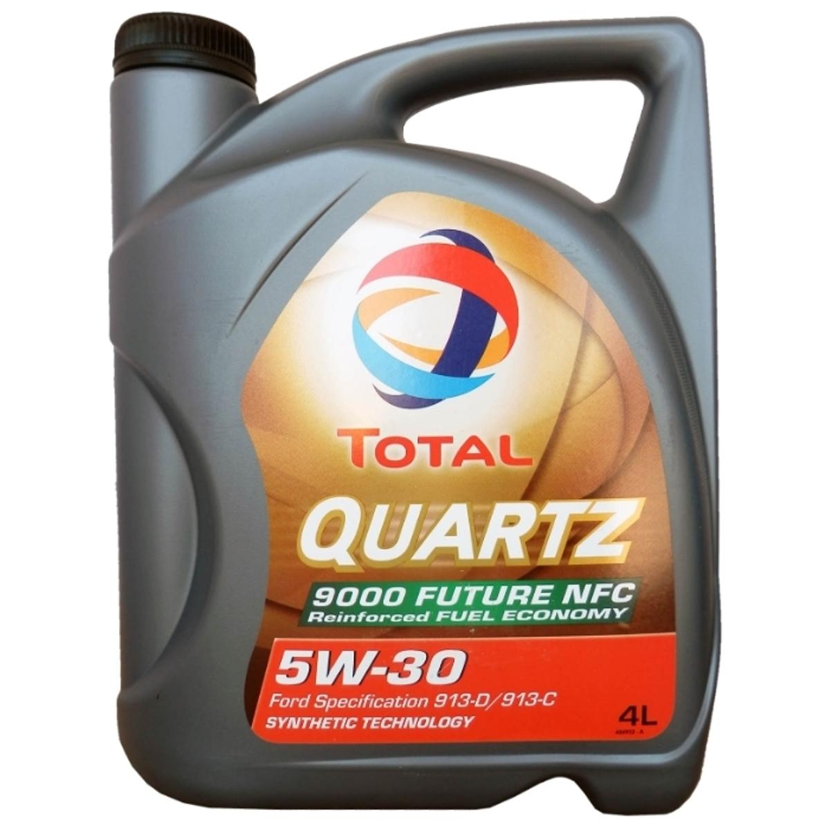 Моторное масло Total Quartz Future NFC 9000 5w30, 4 лS03301004Total Quartz 9000 Future NFC SAE 5W-30 рекомендуется для турбированных, мультиклапанных двигателей и двигателей с прямым впрыском. Может применяться при наиболее сложных условиях эксплуатации (трасса, городские поездки по пробкам) в любое время года. Совместимо с двигателями, оборудованными системами каталитического дожига, работающих на неэтилированном бензине или сжиженном газе. Спецификация Ford WSS-M2C 913-B|Ford WSS-M2C 913-C|Ford WSS-M2C 913-D