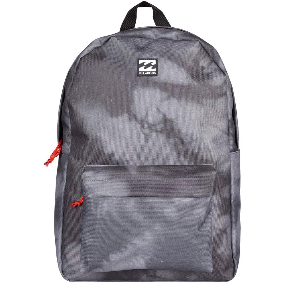 Рюкзак городской Billabong All Day Pack, цвет: черный, серый3607869368547Компактный городской рюкзак, объема которого вполне достаточно для повседневных потребностей. Рюкзак для работы, учебы или пляжного отдыха. Классический дизайн с одним отделением, в которое можно сложить все, что угодно. Основное отделение закрывается на молнию. Спереди имеется объемный карман на молнии. Мягкие регулируемые лямки.Стильные расцветки сделают этот рюкзак не только полезным аксессуаром, но и замечательным дополнением вашего образа в целом.