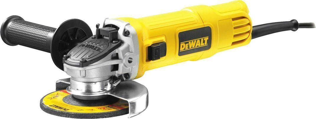 Машина углошлифовальная DeWalt. DWE4150WTDD5-76Углошлифовальная машина DeWalt предназначена для абразивной обработки: резки, шлифования и зачистки изделий из камня, металла и других материалов. Применяется в строительстве, металлообработке и обработке древесины.Особенности углошлифовальной машины DeWalt:- Прекрасная эргономика благодаря небольшому диаметру корпуса, обеспечивающему более удобный захват.- Низкопрофильный корпус редуктора для работы в труднодоступных местах.- Защита двигателя от абразивной пыли для увеличения срока службы. - Независимый и подпружиненный щеткодержатель для увеличения срока службы щеток.- Обмотки статора с прямыми выводами без использования клемм для увеличения надежности двигателя. - Самоотключающиеся щетки защищают якорь от повреждения в случае истечения срока их службы, обеспечивая, тем самым, продолжительный срок службы самого двигателя. Держатель насадки: 42402 мм.Высота: 80 мм.Длина: 270 мм.Уровень вибраций при резании: 11 м/с2. Погрешность вибрации: 6.8 м/с2.Уровень вибрации при шлифовании: 1.5 м/с2.Погрешность вибрации (долбление): 1.5 м/с2.Звуковое давление: 90 дБ(А).Погрешность уровня шума: 5 dB(A). Акустическая мощность: 101 дБ(А). Погрешность уровня создаваемого шума: 5 dB(A).