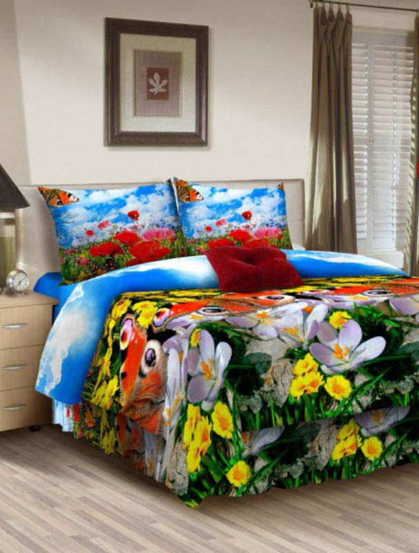 Комплект белья ROKO, 2-спальный, наволочки 70x70, цвет: голубой, красный, желтый391602Комплект белья ROKO состоит из простыни, пододеяльника и двух наволочек. Для производства постельного белья используются экологичные ткани высочайшего качества. Бязь - хлопчатобумажная плотная ткань полотняного переплетения. Отличается прочностью и стойкостью к многочисленным стиркам. Бязь считается одной из наиболее подходящих тканей для производства постельного белья и пользуется в России большим спросом.