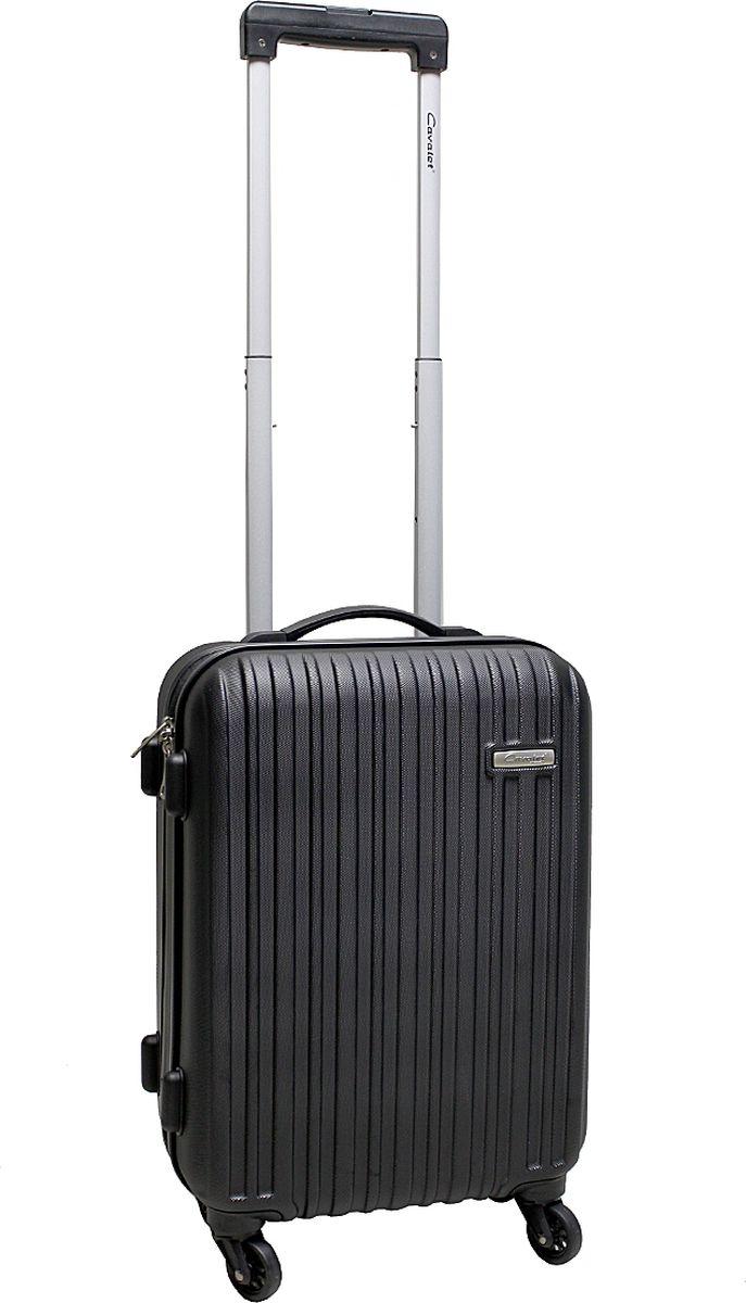 Чемодан-тележка Cavalet Rhodos 843, 31 л, цвет: черный. 843-50-10MW-1462-01-SR серебристыйCavalet Rhodos 843 - современная и простая в использовании тележка, для людей, которые много путешествуют. Детали: четыре бесшумных колеса, телескопическая ручка, замок TSA. Расширение 5 см. Материал - ABS-пластик имеет повышенную ударопрочность и эластичность, не боится кислот, щелочей, масел, влаги. Отлично моется, не токсичен. Отлично переносит низкие температуры до -40°С.Вес: 2,9 кг.Объем: 31л. Все товары компании изготавливаются из высококачественных материалов и проходят строгий контроль качества.