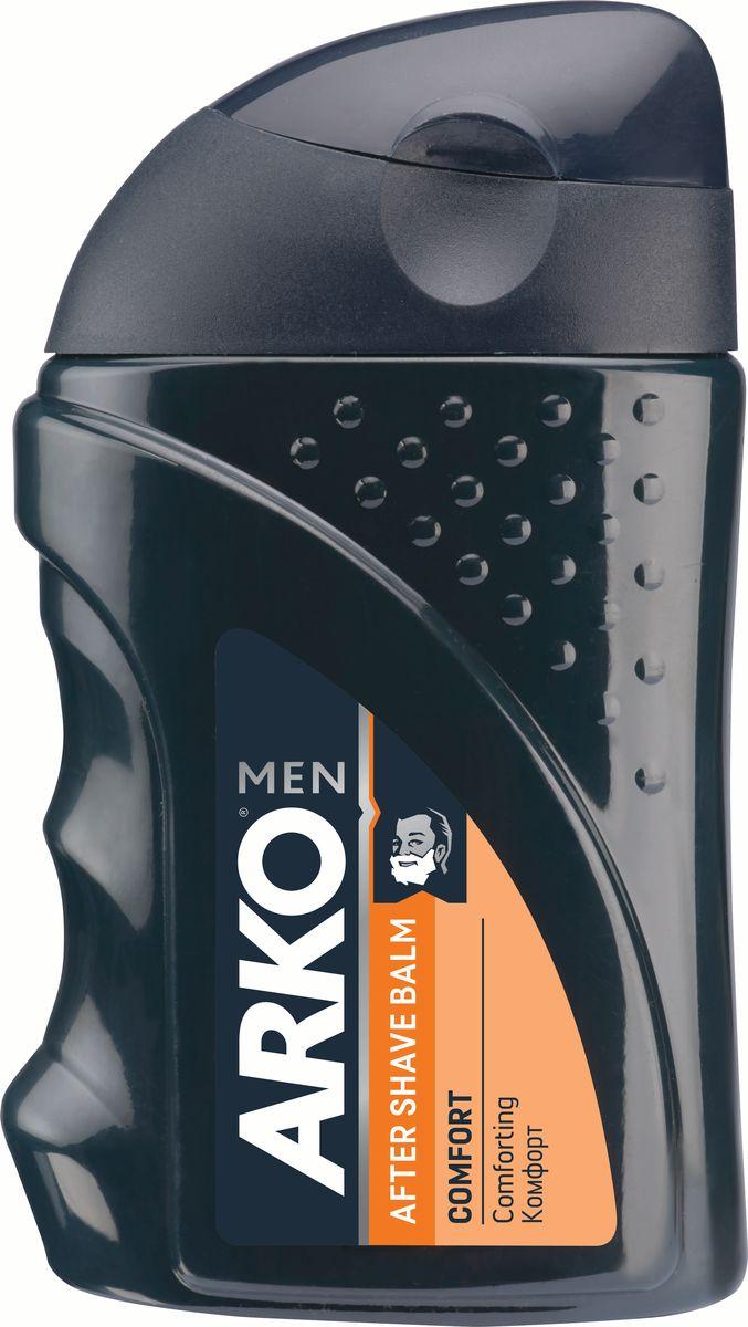 Arko Men Бальзам после бритья Comfort 150мл2101-WX-01Современнное средство по уходу за кожей после бритья. Бальзам смягчает и тонизирует кожу, предупреждает раздражение, возникающее от соприкосновения с бритвой, помогает заживлять небольие порезы, оставляет приятный освежающий аромат.