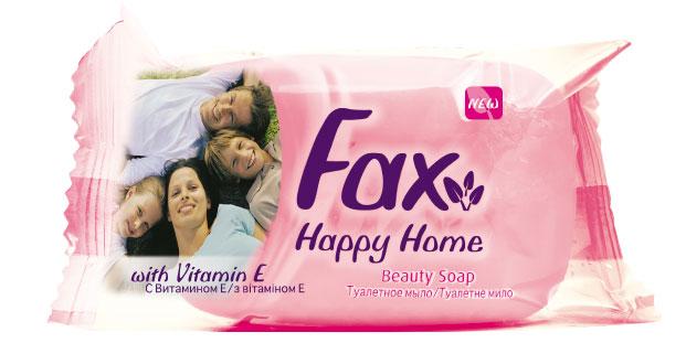 Fax Happyhome Мыло розовое 90гDB4010(DB4.510)/голубой/розовыйЭто линия экономичных средств для гигиены рук и тела. Многообразие ароматов и свойств туалетного мыла Fax позволяют всей семье наслаждаться ощущениями чистоты и свежести. Все продукты серии туалетного мыла Fax Family содержат в составе витамин E, ухаживающий за кожей, а также экстракты ягод и цветов, придающих продукту приятные ароматы. Душистый аромат спелой клубники - настоящая ароматерапия для вашей кожи. Это мыло обязательно заставит вспомнить лето.