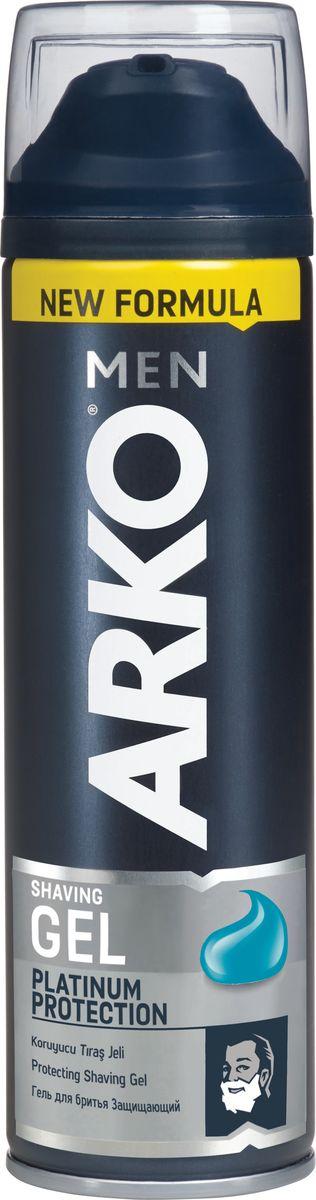Arko Men Гель для бритья Platinum Protection 200мл5010777139655В состав нового геля Arko Men Platinum Protection входят 5 биоминералов, которые обеспечивают непревзойденную защиту чувствительное коже от раздражений.