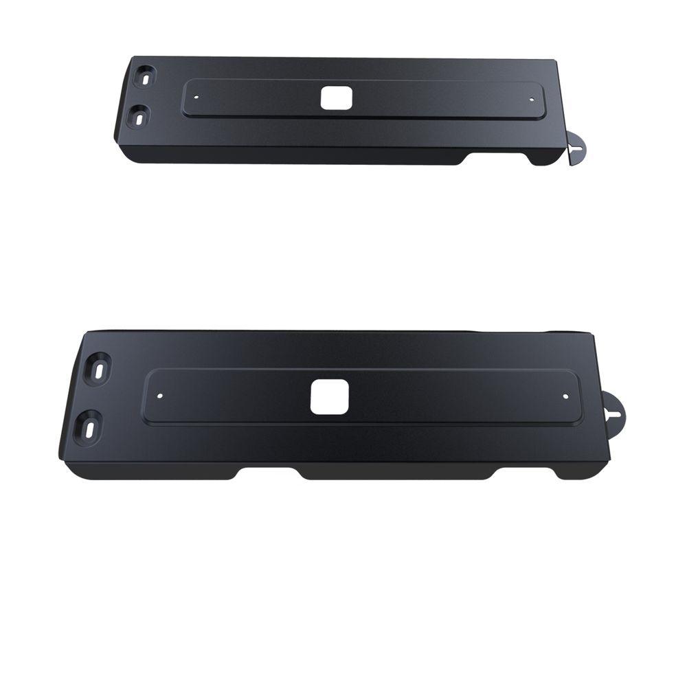 Защита топливного бака Автоброня, для UAZ Patriot V-2,7; 2,3D, (2007-2013/2013-2014/2014-)SVC-300Технологически совершенный продукт за невысокую стоимость.Защита разработана с учетом особенностей днища автомобиля, что позволяет сохранить дорожный просвет с минимальным изменением.Защита устанавливается в штатные места кузова автомобиля. Глубокий штамп обеспечивает до двух раз больше жесткости в сравнении с обычной защитой той же толщины. Проштампованные ребра жесткости препятствуют деформации защиты при ударах.Тепловой зазор и вентиляционные отверстия обеспечивают сохранение температурного режима двигателя в норме. Скрытый крепеж предотвращает срыв крепежных элементов при наезде на препятствие.Шумопоглощающие резиновые элементы обеспечивают комфортную езду без вибраций и скрежета металла, а съемные лючки для слива масла и замены фильтра - экономию средств и время.Конструкция изделия не влияет на пассивную безопасность автомобиля (при ударе защита не воздействует на деформационные зоны кузова). Со штатным крепежом. В комплекте инструкция по установке.Толщина стали: 2 мм.Уважаемые клиенты!Обращаем ваше внимание, что элемент защиты имеет форму, соответствующую модели данного автомобиля. Фото служит для визуального восприятия товара и может отличаться от фактического.