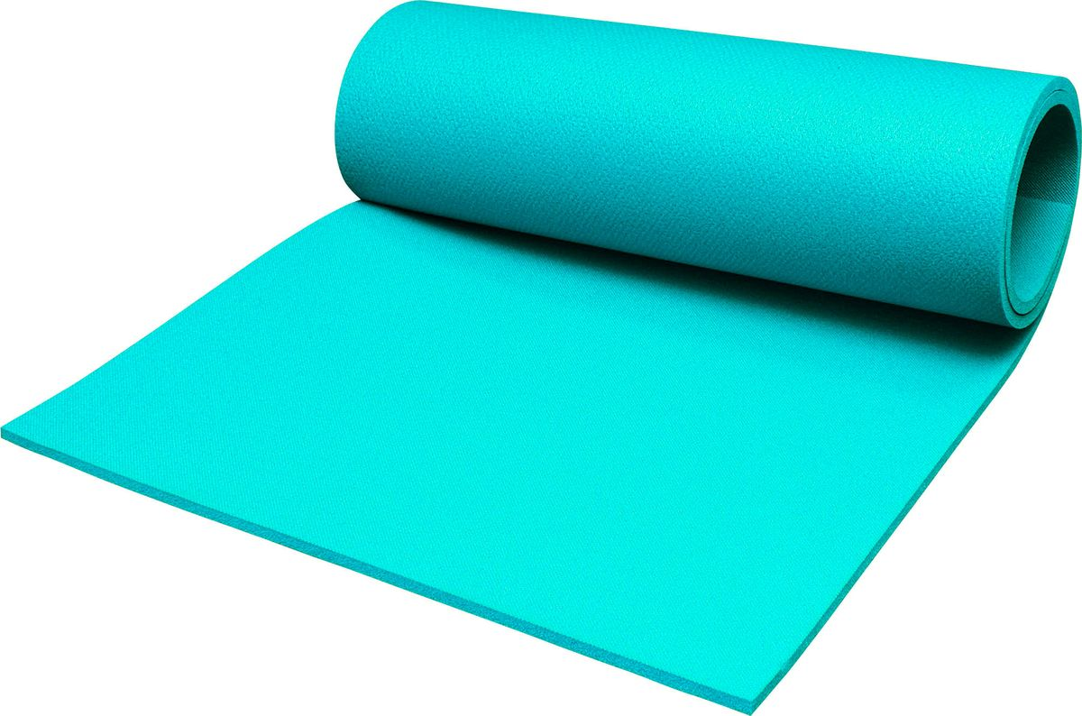 Коврик туристический  Пенолон , цвет: бирюзовый, 180 х 60 х 1 см - Туристические коврики