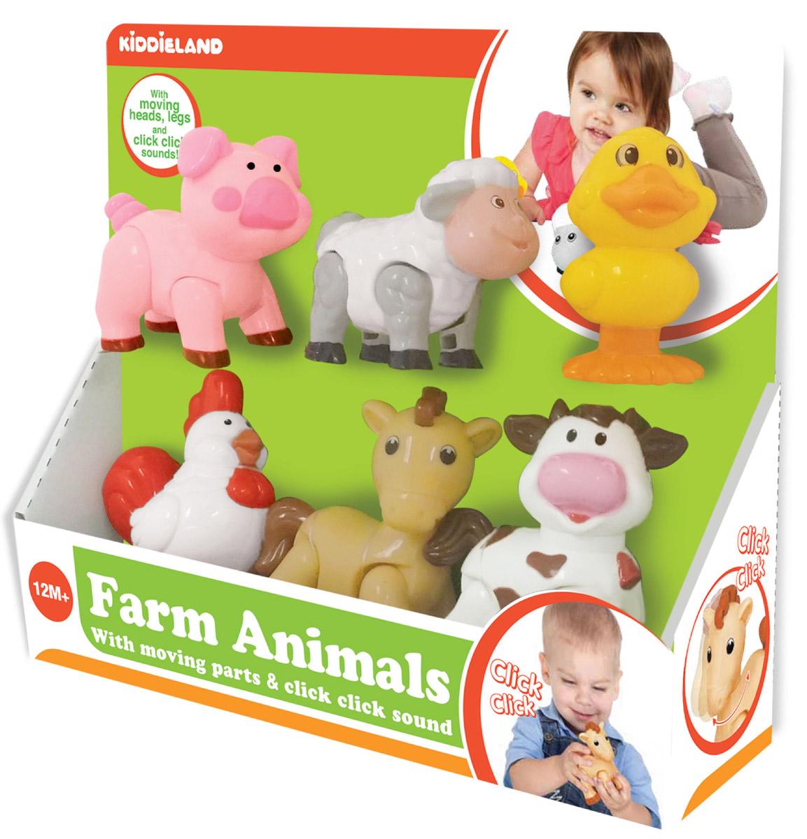 Kiddieland Развивающая игрушка Домашние животные kiddieland развивающая игрушка забавная камера