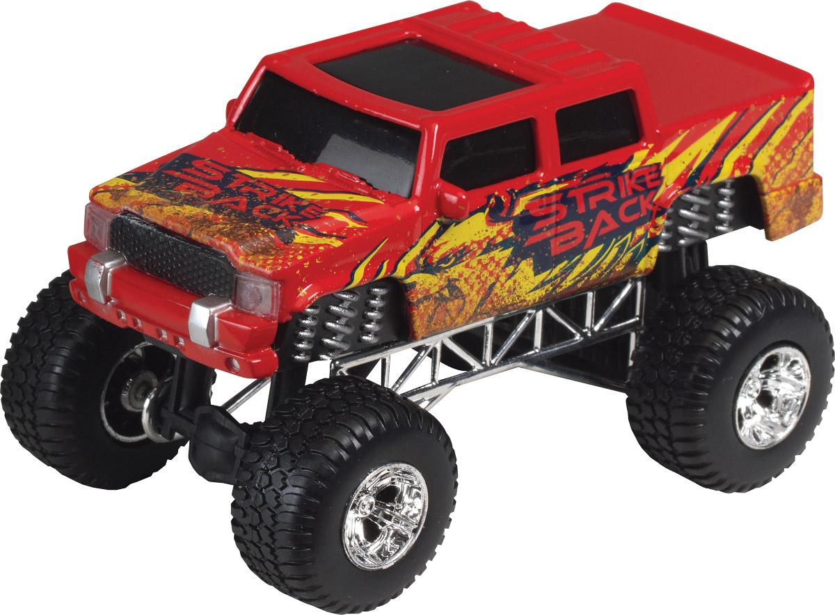 Dickie Toys Джип Dirt Monster цвет красный dickie toys dickie toys фрикционный джип 4 х 4 hill roader красный