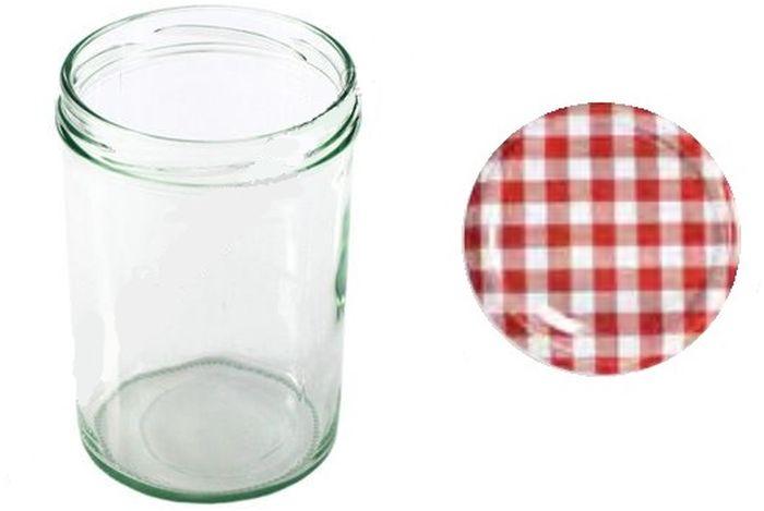 Банка для сыпучих продуктов Einkochwelt Twist, 440 млVT-1520(SR)Банка для сыпучих продуктов Einkochwelt Twist изготовлена из прочного стекла и дополнена металлической крышкой. Такая модель станет незаменимым помощником на любой кухне. В ней будет удобно хранить сыпучие продукты, такие, как чай, кофе, соль, сахар, крупы, макароны и многое другое. Емкость плотно закрывается крышкой, благодаря которой дольше сохраняя аромат и свежесть содержимого. Оригинальная форма и цвет банки позволит ей стать не только полезным изделием, но и украшением интерьера вашей кухни.Объем банки: 440 мл.