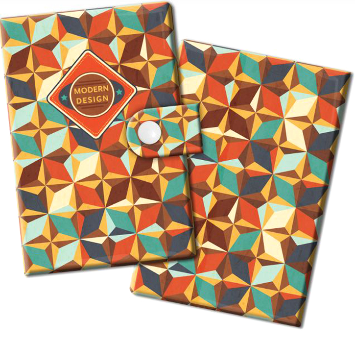 Визитница Magic Home Модерн, цвет: коричневый, голубой. 44883INT-06501Визитница Magic Home выполнена из искусственной кожи и дополнена оригинальным рисунком. Модель застегивается на хлястик с кнопкой. Внутри содержатся 10 карманов для карт и визиток. Стильная визитница подчеркнет вашу индивидуальность и изысканный вкус, а также станет замечательным подарком.