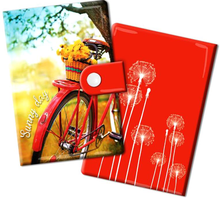 Визитница Magic Home Путешествуй, цвет: красный, желтый. 44876B16-11416Визитница Magic Home выполнена из искусственной кожи и дополнена оригинальным рисунком. Модель застегивается на хлястик с кнопкой. Внутри содержатся 10 карманов для карт и визиток. Стильная визитница подчеркнет вашу индивидуальность и изысканный вкус, а также станет замечательным подарком.