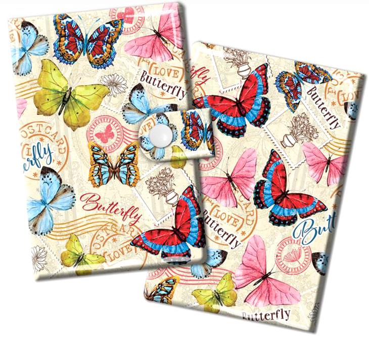 Визитница женская Magic Home Эффект бабочки, цвет: бежевый, розовый. 44872INT-06501Визитница Magic Home выполнена из искусственной кожи и дополнена оригинальным рисунком. Модель застегивается на хлястик с кнопкой. Внутри содержатся 10 карманов для карт и визиток. Стильная визитница подчеркнет вашу индивидуальность и изысканный вкус, а также станет замечательным подарком.
