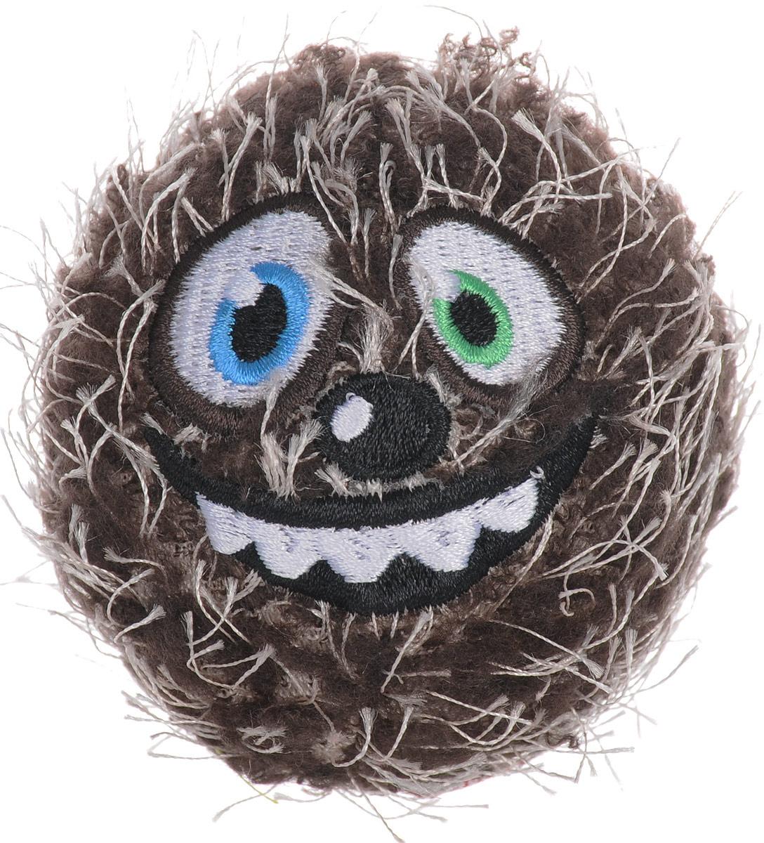 Игрушка для собак GiGwi Мяч, с пищалкой, диаметр 7 см. 753430120710Игрушка для собак GiGwi Мяч выполнена из сочетания резинового сердечника, пищалки и плюшево-войлочных покрытий. Игрушка подходит для активной игры. Прочный, неабразивный, нетоксичный материал не ранит зубы. Игрушка оснащена пищалкой.