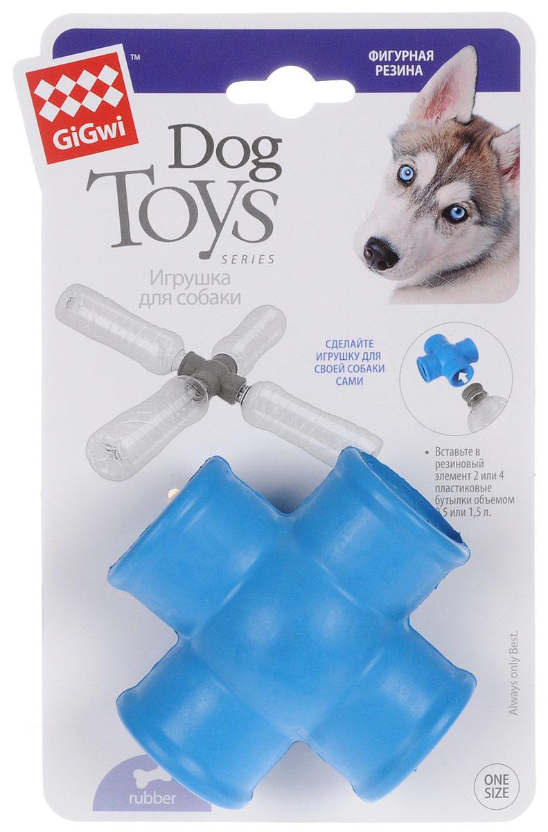 Фиксатор для пластиковых бутылок GiGwi, длина 8,5 см75275Фиксатор для пластиковых бутылок GiGwi позволит вам создать игрушку для своей собаки. Вставьте в резиновый элемент 2 или 4 пластиковые бутылки объемом 0,5 или 1,5 л.