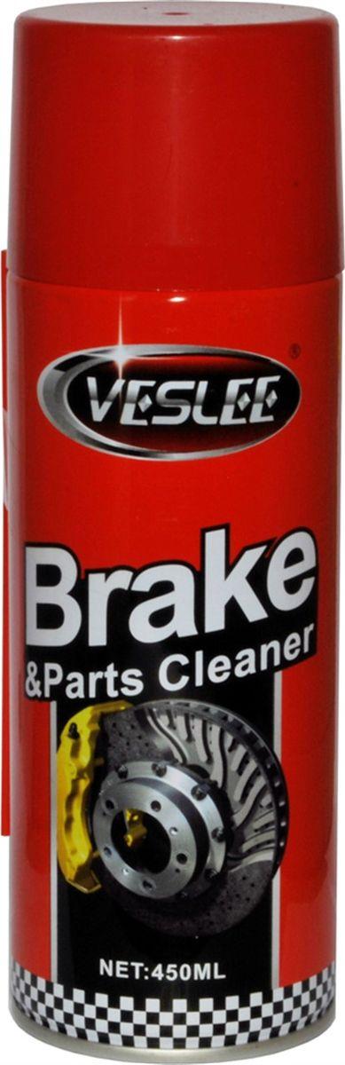 Очиститель тормозов Veslee, 450 мл (аэрозоль)SVC-300Эффективно очищает тормозные колодки, барабаны, диски и другие детали тормозных систем без разборки. Быстро удаляет тормозную пыль, нагар, маслянистую плёнку и другие загрязнения. После применения средства тормоза работают плавно и надёжно