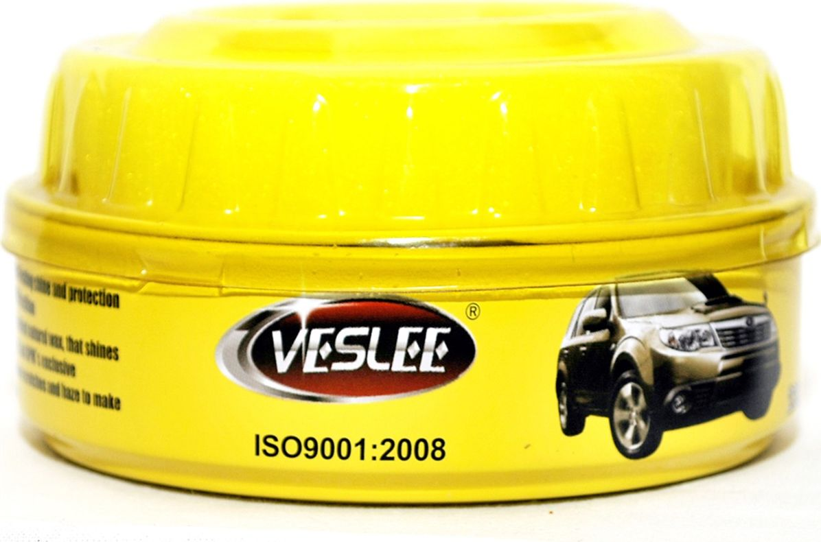 Полироль кузова Veslee, автовоск мягкий с карнаубой, 230 г (банка)RC-100BWCПолирует, обновляет и защищает лакокрасочное покрытие автомобиля. Устраняет помутнения и мелкие царапины, а содержащийся в составе воск карнаубы придаёт поверхности яркость и блеск. Предельно стойкий. Создаёт защитный слой, предохраняющий от воды, соли и коррозии до 12 месяцев. Может применяться для обработки окрашенных и металлических по-верхностей автомобилей, мотоциклов, катеров, а также в быту.