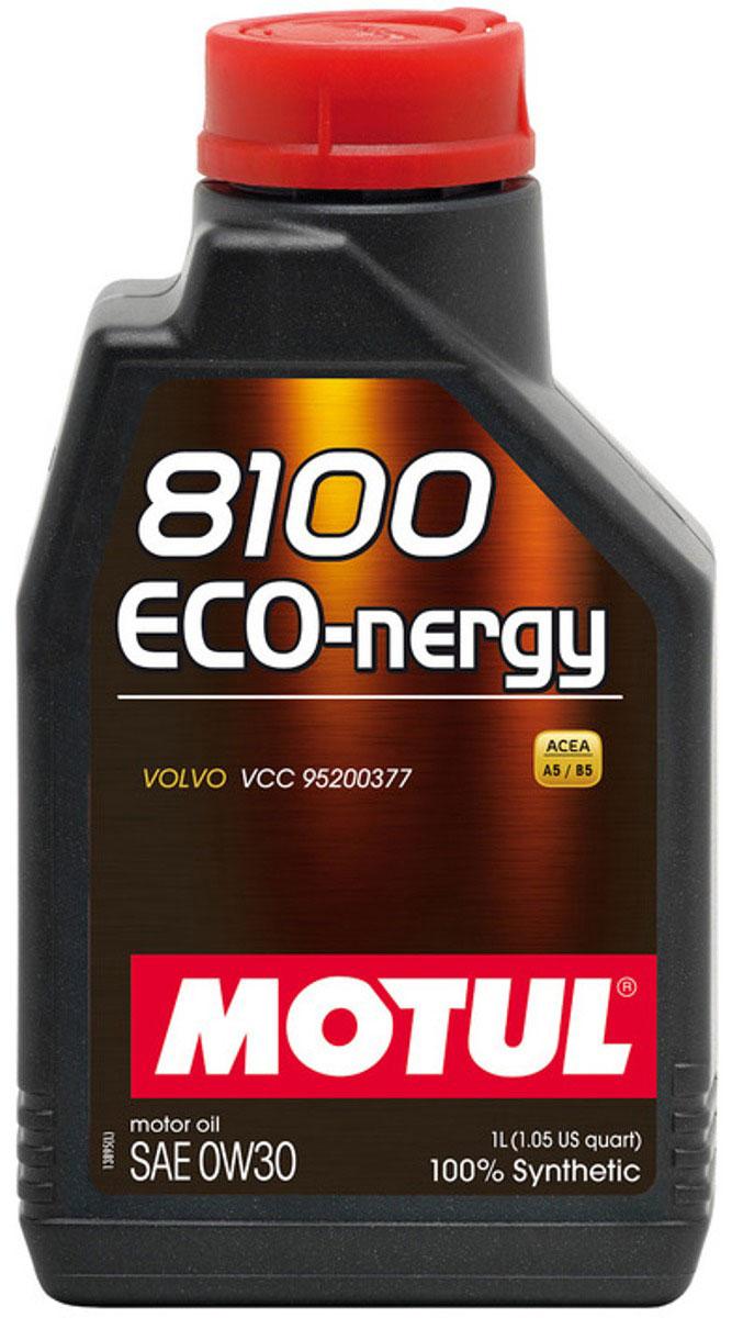 Масло моторное Motul 8100 Eco-Nergy, синтетическое, 0W-30, 1 л102793100% синтетическое моторное масло для бензиновых и дизельных двигателей. Энергосберегающее. Энергосберегающее 100% синтетическое моторное масло специально разработано для мощных современных бензиновых и дизельных двигателей автомобилей, в том числе с непосредственным впрыском, для которых предусмотрено использование масел с низкой высокотемпературной вязкостью в условиях высоких скоростей сдвига (HTHS). Предназначено для всех современных бензиновых и дизельных двигателей, для которых предписаны масла Fuel Economy (ACEA A1/B1 и А5/В5), совместимо с системами нейтрализации отработавших газов. ACEA Стандарты: ACEA A5/B5API Стандарты: API SL/CFОдобрения: VOLVO VCC 95200377
