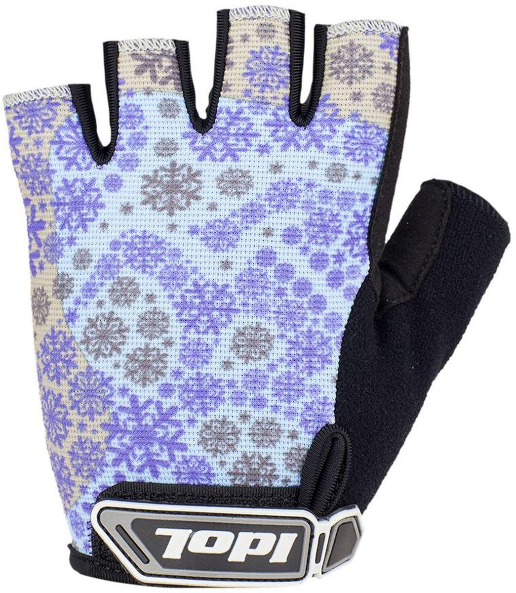 Перчатки велосипедные женские Idol Arosa. Размер L2931Велосипедные перчатки с открытыми пальцами Idol AROSA предназначены для велоспорта, велотуризма, велосипедных прогулок. Верх выполнен из высококачественного материала 4-way stretch, который отличается повышенной воздухопроницаемостью. Ладонь изготовлена из синтетической кожи Amara. Большой палец перчатки отделан влагоотводящим материалом. На запястьях перчатки фиксируются прочными липучками. Для удобства снятия каждая перчатка оснащена двумя небольшими петельками.Высокое качество, технически совершенные материалы, оригинальный стильный дизайн, функциональность и долговечность выделяют велоперчатки Idol среди прочих.