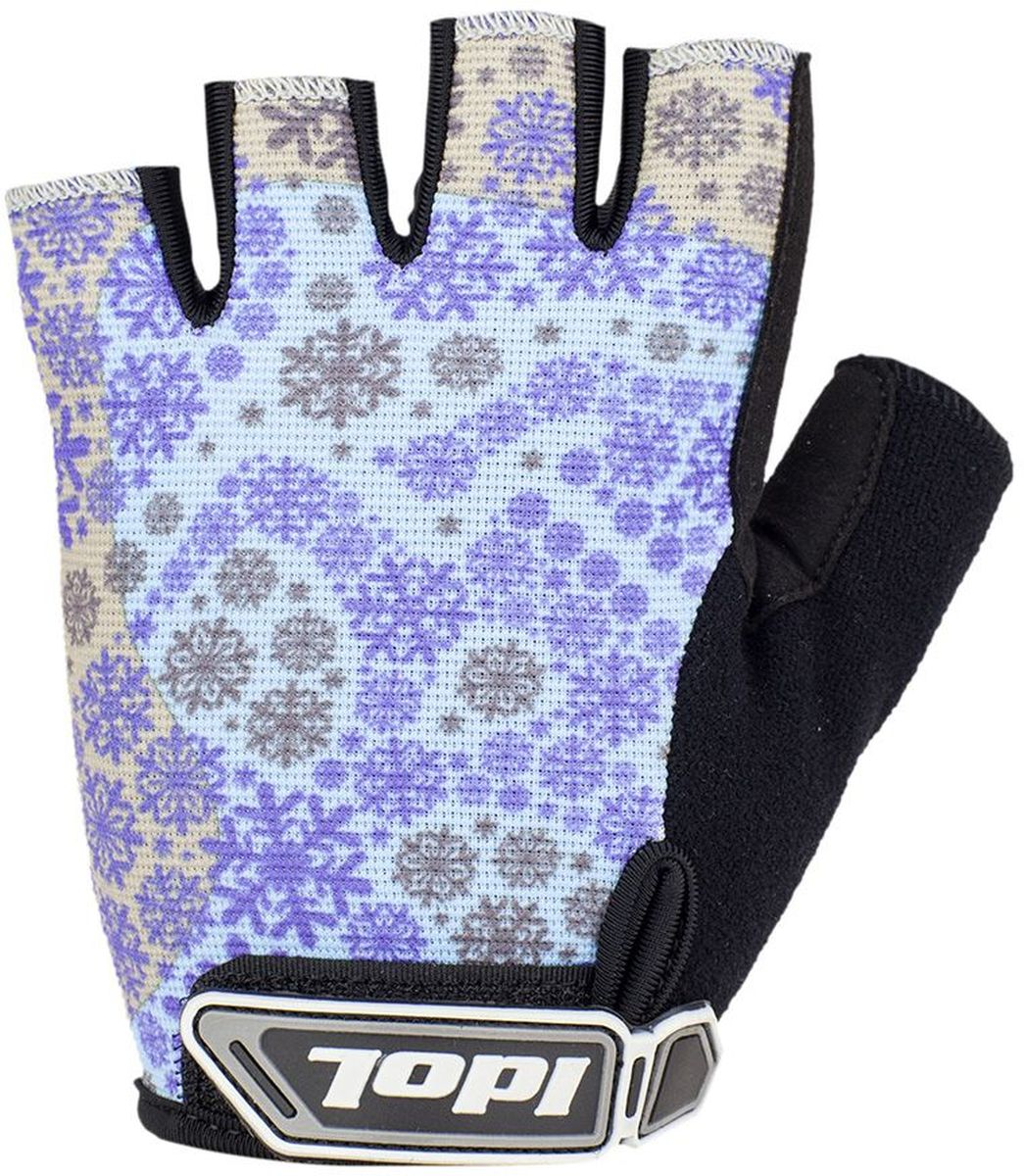 Перчатки велосипедные женские Idol Arosa. Размер M2712Велосипедные перчатки с открытыми пальцами Idol AROSA предназначены для велоспорта, велотуризма, велосипедных прогулок. Верх выполнен из высококачественного материала 4-way stretch, который отличается повышенной воздухопроницаемостью. Ладонь изготовлена из синтетической кожи Amara. Большой палец перчатки отделан влагоотводящим материалом. На запястьях перчатки фиксируются прочными липучками. Для удобства снятия каждая перчатка оснащена двумя небольшими петельками.Высокое качество, технически совершенные материалы, оригинальный стильный дизайн, функциональность и долговечность выделяют велоперчатки Idol среди прочих.