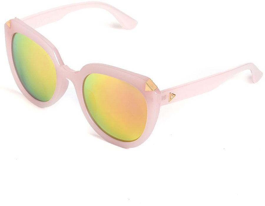 Очки солнцезащитные женские Selena, цвет: розовый. 80035681BM8434-58AEСолнцезащитные женские очки Selena выполнены из качественного материала. Линзы очков обеспечивают 100% защиту от ультрафиолетовых лучей.Такие очки защитят глаза от ультрафиолетовых лучей, подчеркнут вашу индивидуальность и сделают ваш образ завершенным.Размер (ширина линзы*ширина моста-длина дужки) 56*24-148.