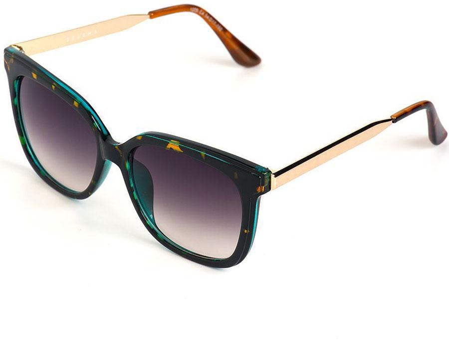 Очки солнцезащитные женские Selena, цвет: золотистый, коричневый. 80035721BM8434-58AEСолнцезащитные женские очки Selena выполнены из качественного материала. Линзы очков обеспечивают 100% защиту от ультрафиолетовых лучей.Такие очки защитят глаза от ультрафиолетовых лучей, подчеркнут вашу индивидуальность и сделают ваш образ завершенным. Размер (ширина линзы*ширина моста-длина дужки) 54*17-152.
